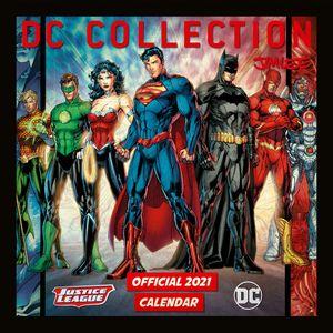 [DC Comics: 2021 Square Calendar (Product Image)]