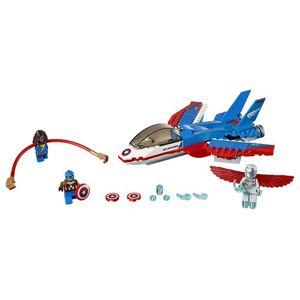 [Marvel: Lego Superheroes: Captain America Jet Pursuit (Product Image)]