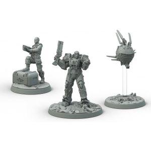[Fallout: Wasteland Warfare: Brotherhood Of Steel: Cade & Danse (Product Image)]