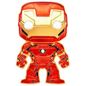 [Marvel: Loungefly Large Enamel Pop! Pin: Iron Man (Product Image)]