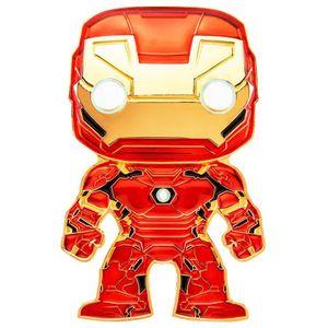 [Marvel: Loungefly Large Enamel Pop! Pin: Iron Man (Product Image)]