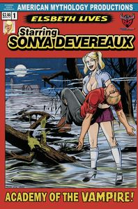 [Starring Sonya Devereaux #2 (Horror Homage Cover) (Product Image)]