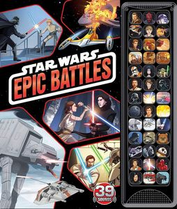 [Star Wars: Epic Battles (39 Button Sound Book) (Product Image)]