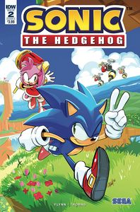 [Sonic The Hedgehog #2 (Cover A Hesse) (Product Image)]