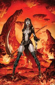 [Tales Of Terror: Annual: Goddess Of Death (Cover A Vigonte) (Product Image)]