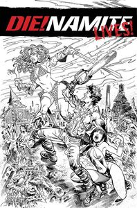 [Die!Namite: Lives #3 (Cover G Acosta Pencil Art Variant) (Product Image)]