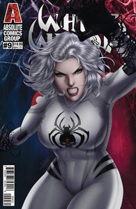[White Widow #9 (Cover C Diaz Lenticular) (Product Image)]