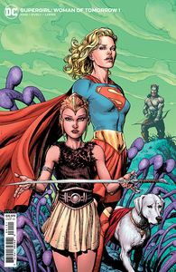 [Supergirl: Woman Of Tomorrow #1 (Gary Frank Cardstock Variant) (Product Image)]