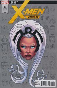 [X-Men: Gold #13 (Mckone Legacy Headshot Variant Leg) (Product Image)]