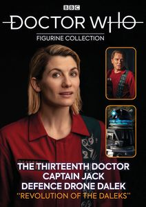 [Doctor Who Companion Sets: Revolution Of The Daleks #2: 13th Doctor, Captain Jack & Defence Drone Dalek (Product Image)]