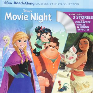 [Disney's Movie Night Read A Long: Frozen/Moana/Wreck It Ralph (Product Image)]