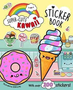 [Super-Cute Kawaii Sticker Book (Product Image)]