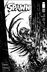 [Spawn #316 (Cover D Capullo & Mcfarlane B&W Variant) (Product Image)]