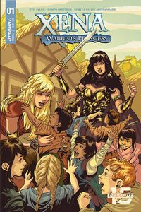 [Xena: Warrior Princess #1 (Cover B Lupacchino) (Product Image)]