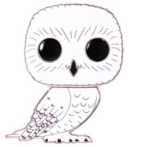 [Harry Potter: Loungefly Large Enamel Pop! Pin: Hedwig (Chase Pin) (Product Image)]