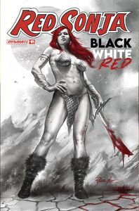[Red Sonja: Black White Red #1 (Cover A Parrillo) (Product Image)]