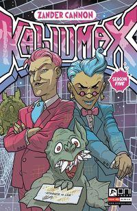 [The cover for Kaijumax: Season 5 #3]