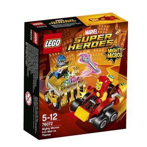 [Marvel: Lego Mighty Micros: Iron Man Vs Thanos (Product Image)]