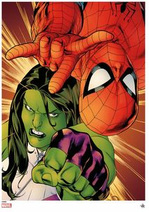 [Marvel: Giclee Print: Avenging Spider-Man (Signed & Numbered) (Product Image)]