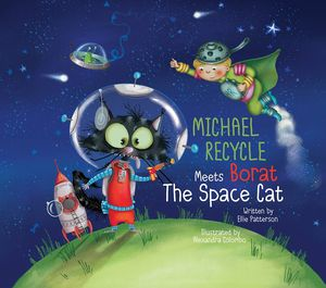 [Michael Recycle & Borat Space Cat (Hardcover) (Product Image)]