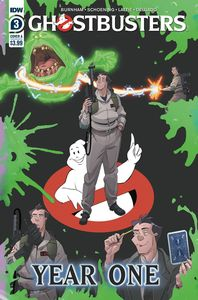 [Ghostbusters: Year One #3 (Cover A Shoening) (Product Image)]
