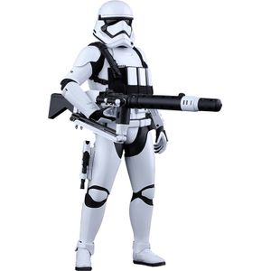 [Star Wars: The Force Awakens: Hot Toys Deluxe Action Figure: First Order Heavy Gunner Stormtrooper (Product Image)]