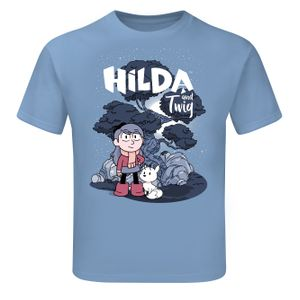 [Hilda: Children's T-Shirt: Hilda & Twig (Product Image)]