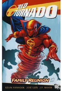 [Red Tornado: Family Reunion (Titan Edition) (Product Image)]