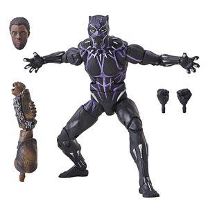 [Black Panther: Marvel Legends Action Figure: Vibranium Black Panther (Product Image)]