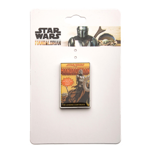 [Star Wars: The Mandalorian: Enamel Pin: The Legend Continues (Product Image)]