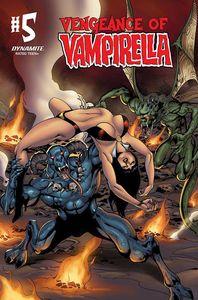 [Vengeance Of Vampirella #5 (Castro black & White Bonus Variant) (Product Image)]
