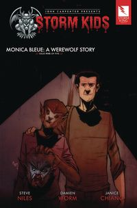 [The cover for Storm Kids: Monica Bleue: Werewolf Story #5]