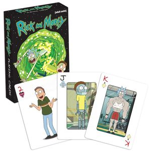 [Rick And Morty: Playing Cards (Product Image)]