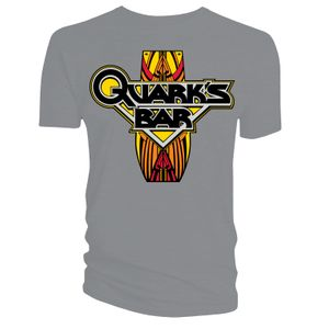 [Star Trek: Deep Space Nine: T-Shirt: Quark's Bar (Charcoal) (Product Image)]