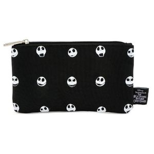 [Nightmare Before Christmas: Loungefly Printed Pencil Case: Jack Face (Product Image)]