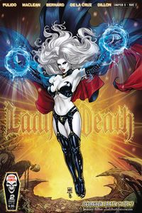 [The cover for Lady Death: Scorched Earth #2 (Cover A Standard)]