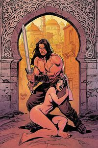 [Cimmerian: Man-Eaters Of Zamboula #1 (Cover F Paquette Virgin Variant) (Product Image)]