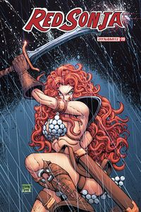 [Red Sonja #23 (Cover D Robson) (Product Image)]