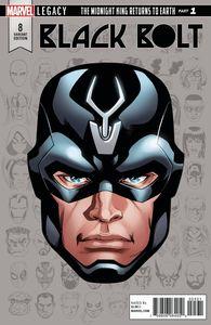 [Black Bolt #8 (McKone Legacy Headshot Variant) (Legacy) (Product Image)]