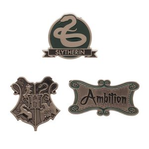 [Harry Potter: Lapel Pin 3-Pack: Slytherin (Product Image)]