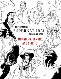 [Supernatural Colouring Book: Monsters Demons & Spirits (Product Image)]