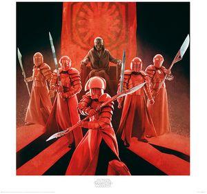 [Star Wars: The Last Jedi: Art Print: Snoke & Elite Guards (Product Image)]