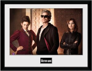 [Doctor Who: Framed Print: Iconic Season 9 (Product Image)]