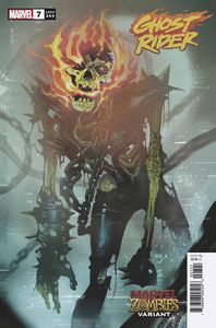 [Ghost Rider #7 (Del Mundo Marvel Zombies Variant) (Product Image)]