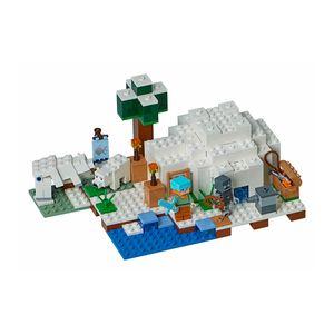 [LEGO: Minecraft: The Polar Igloo (Product Image)]