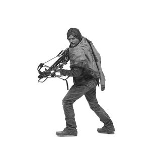 [Walking Dead: Deluxe Action Figure: Daryl Dixon (Product Image)]