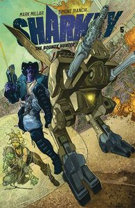 [Sharkey: The Bounty Hunter #5 (Cover A Bianchi) (Product Image)]