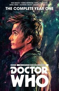 [Doctor Who: Tenth Doctor: The Complete Year One (Hardcover) (Product Image)]