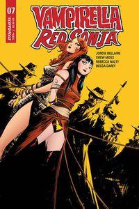 [Vampirella/Red Sonja #7 (Lee Yellow Variant) (Product Image)]