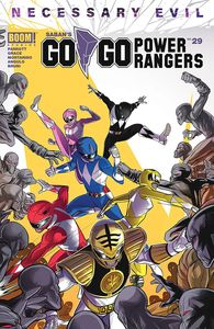 [Go Go Power Rangers #29 (Cover A Main Carlini) (Product Image)]